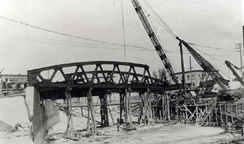 Construction of Main Street Bridge, Fairport, N.Y.