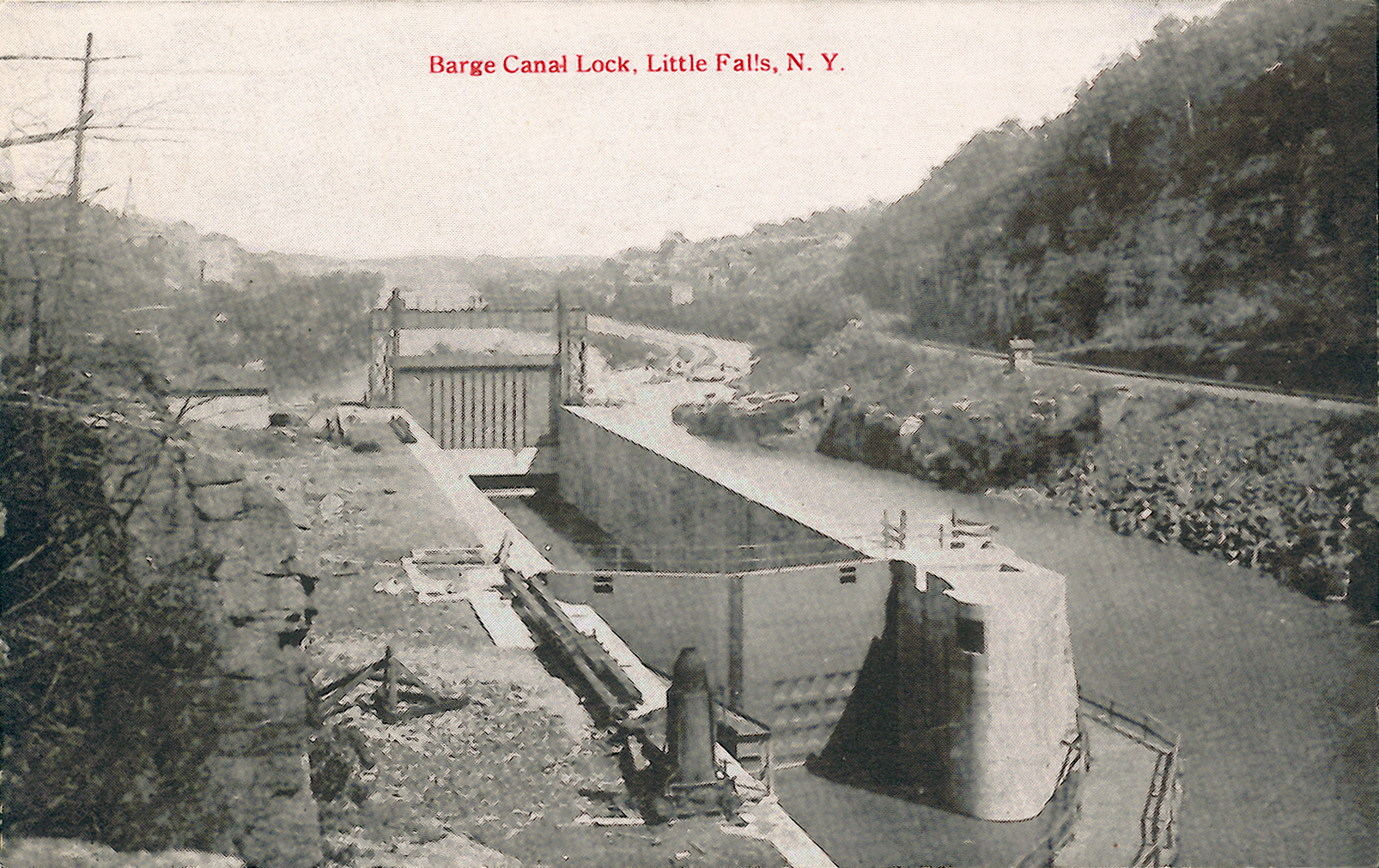 Erie Canal Images Little Falls Page 3