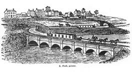The first Rochester aqueduct