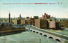 Genesee River and the Erie Canal Aqueduct