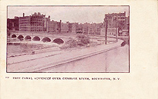 Erie Canal Aqueduct over the Genesee River