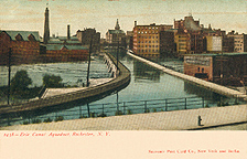 Aqueduct Carrying Erie Canal over Genesee River, Rochester, N.Y.