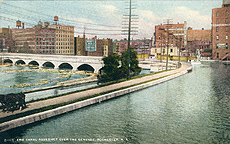 Erie Canal Aqueduct over the Genesee, Rochester, N.Y.
