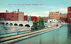 Erie Canal and Aqueduct, Rochester N.Y.