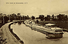 Erie Canal at Schenectady, N.Y.
