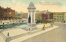 Soldiers and Sailors Monument, Clinton Square, Syracuse, N.Y.
