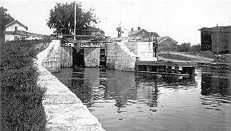 Lock no. 32, Enlarged Erie Canal, Fort Plain, N.Y.