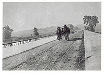 Mules on the towpath of the Schoharie Creek Aqueduct, Fort Hunter, N.Y.