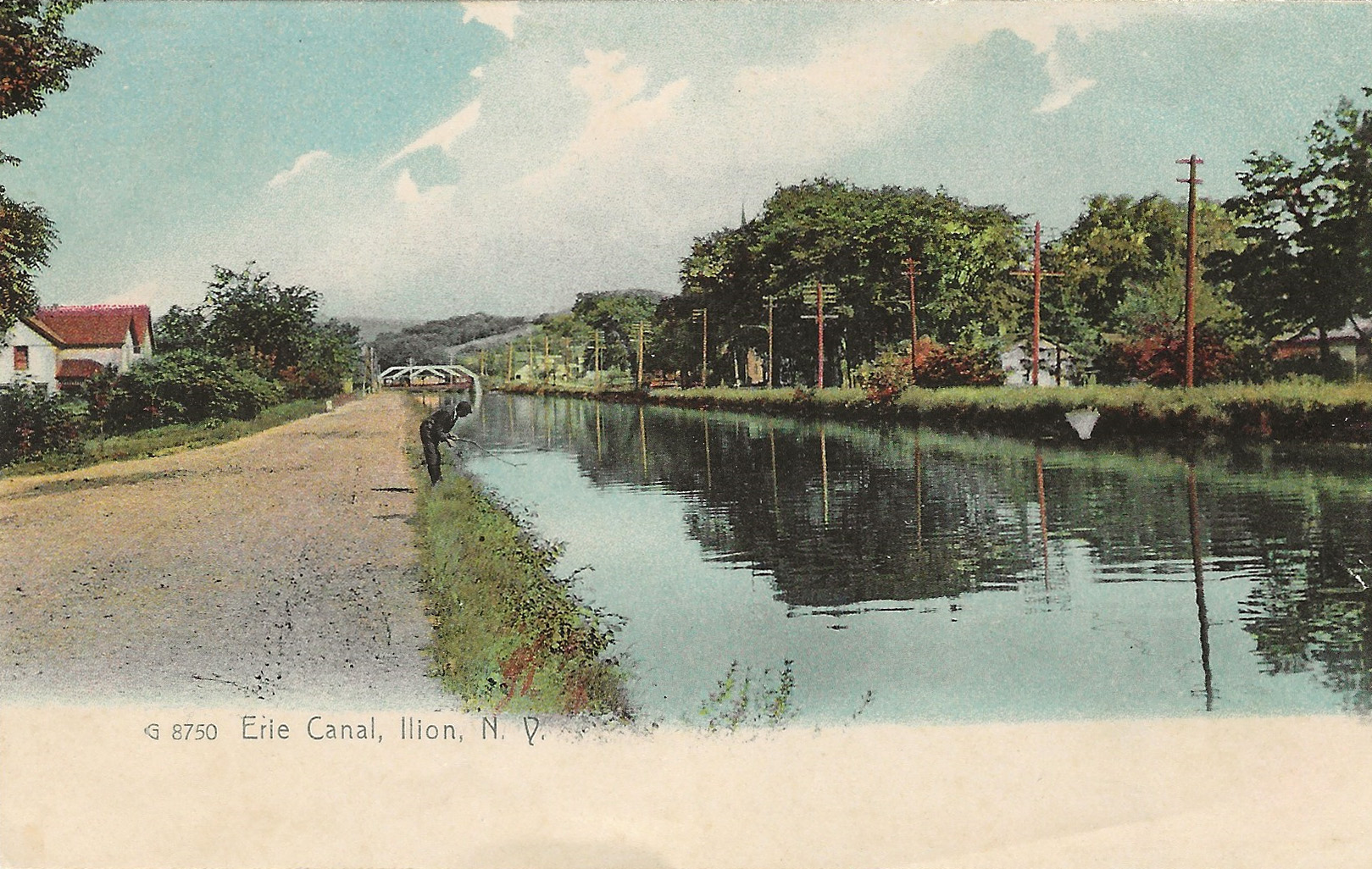 Packet Boat Erie Canal Quot Erie Canal Scene With Packet