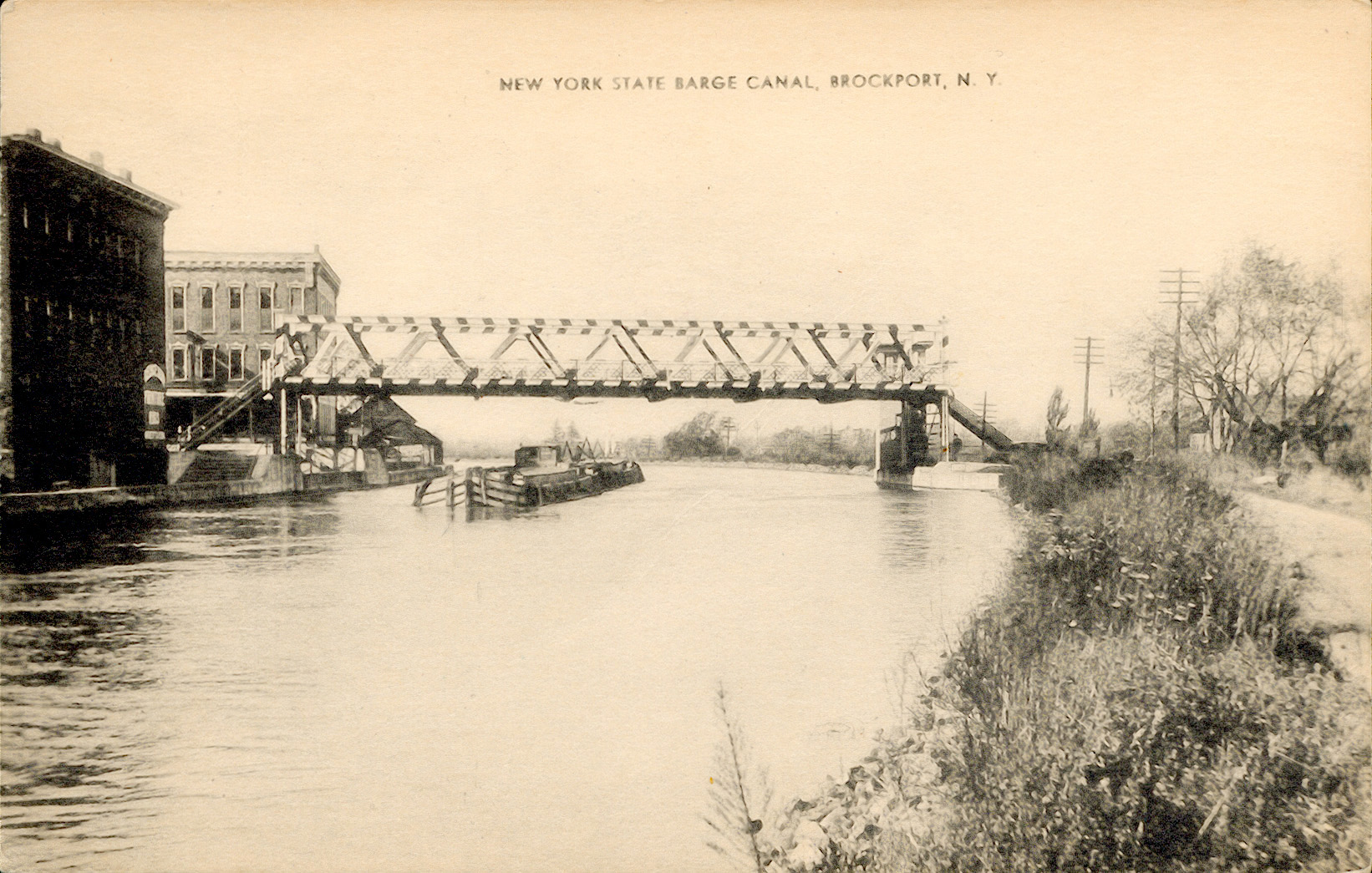 Erie Canal Images - West Section