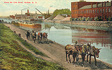 Along the Erie Canal, Buffalo, N.Y.
