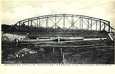 Rochester, Syracuse and Eastern R.R. Bridge over Erie Canal, Fairport, N.Y.