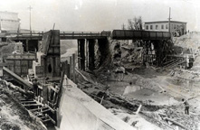 Construction, Main Street Bridge, Fairport, N.Y.
