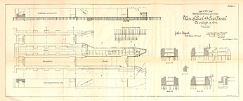 Plan of Lock 41, Fort Herkimer