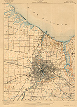 Rochester Special Map, 1912