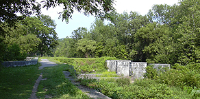 Nine Mile Creek Aqueduct - North side