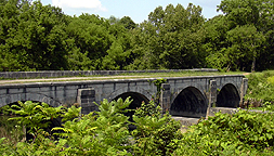 Nine Mile Creek Aqueduct - South side