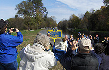 Historical marker - Re-dedication ceremony