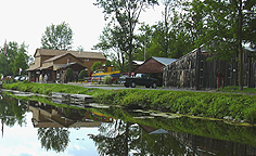 The buildings at Camillus Erie Canal Park