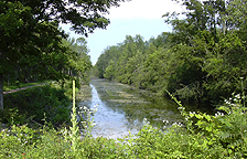The Enlarged Erie Canal at Camillus