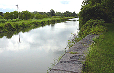 The Enlarged Erie Canal near <br />           Chittenango Landing Canal Boat Museum