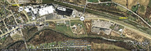 Google Earth view of Macedon and Lock 60 remains