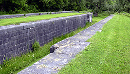 South chamber, Lock No. 60, topside