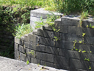 Erie Canal Lock No. 62 at Pittsford - east end stairs