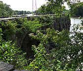 The Seneca River Aqueduct, eastern end, looking southwest