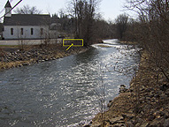 Original Erie Canal - Location of the Clinton's Ditch aqueduct