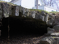 Original Erie Canal - The easternmost arch of the aqueduct