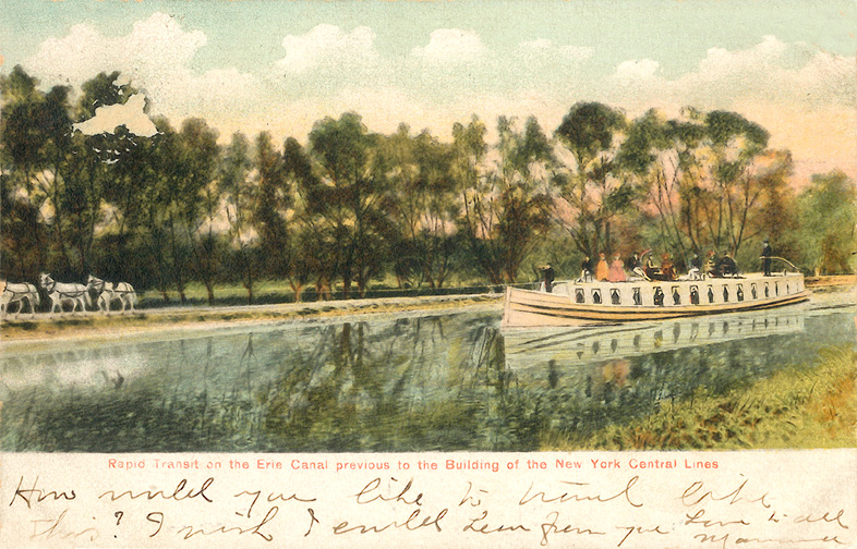 Erie Canal - Boats